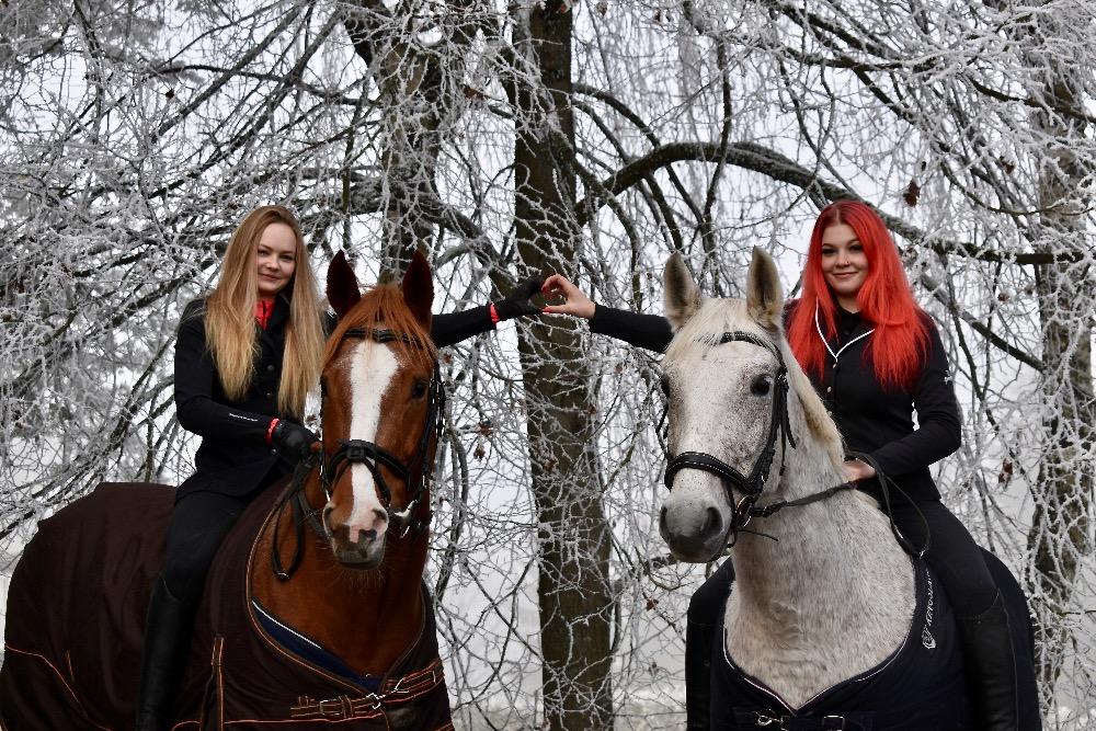 Jezdecká akademie - Adéla a Valerie