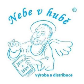 Nebe v hubě - logo